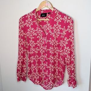 Anthropologie Maeve button up blouse size 0